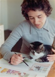 Judith Kerr at work